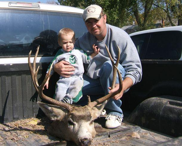 Chad and Kaden 07 buck
