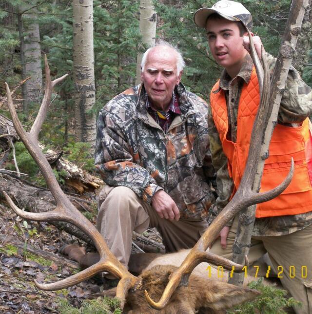 Joe and Max 06 Elk