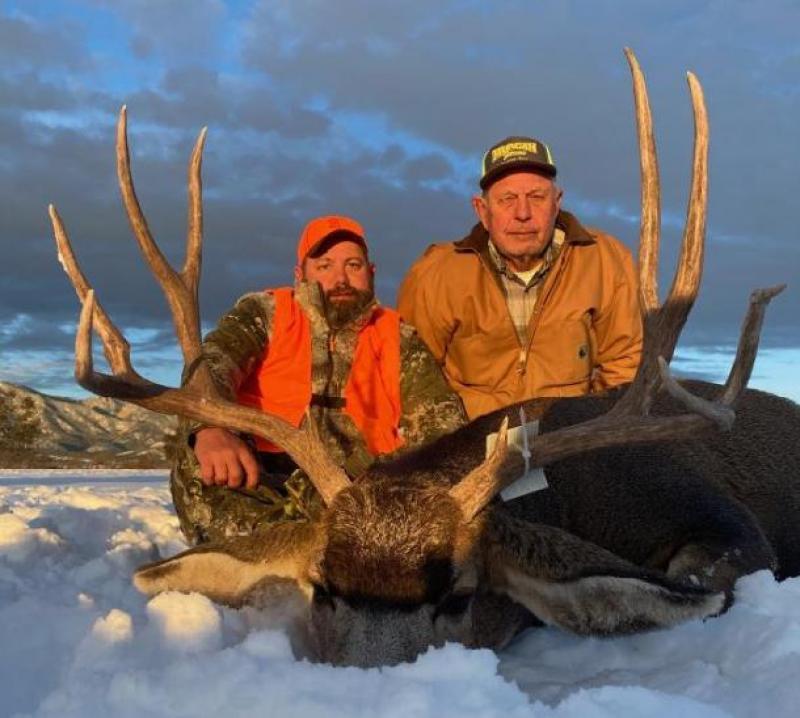 Logan N. and dad Wilson N. 2020